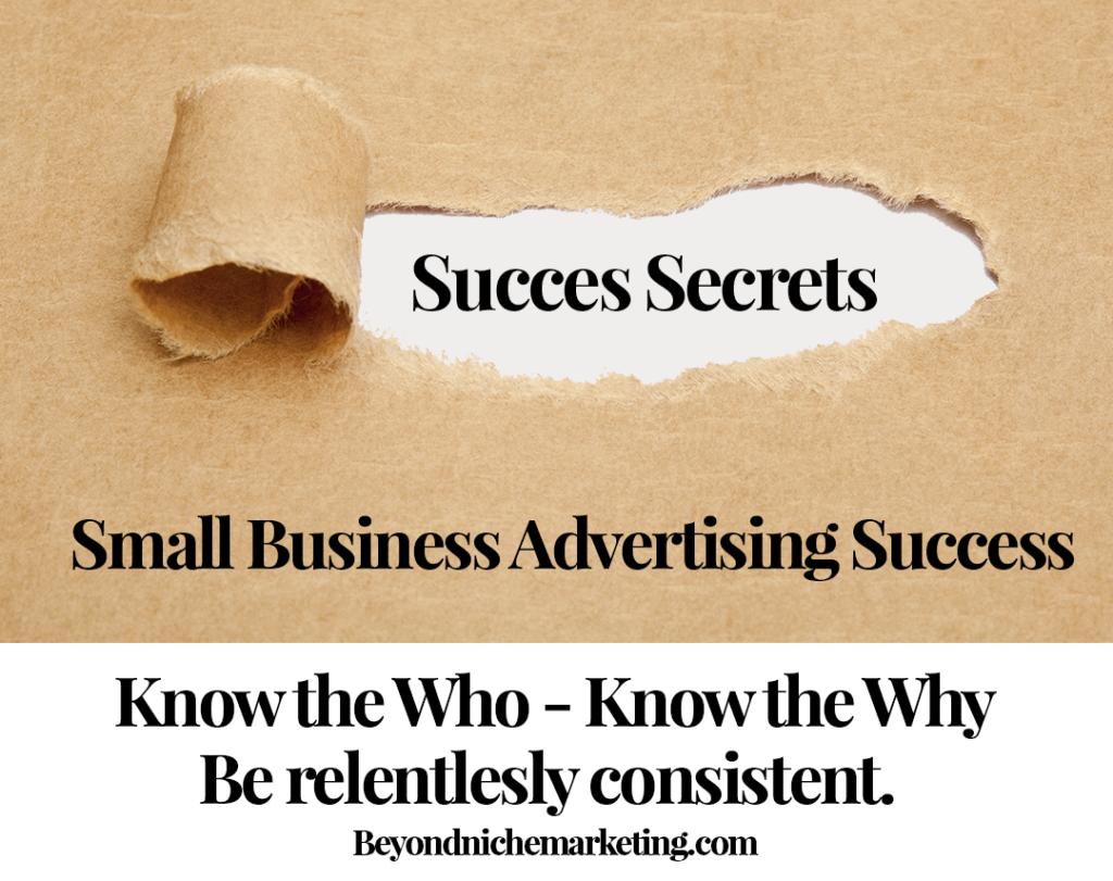 small business advertising success